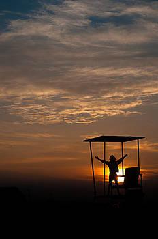 Goodnight Sun by David Pinsent