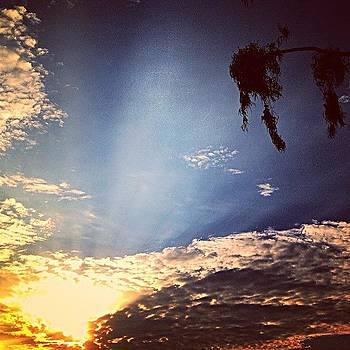 Goodnight Sun. #sunset #picoftheday by Brooke Kozlowski