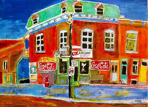 Goose Village Zaleski 1963 by Michael Litvack