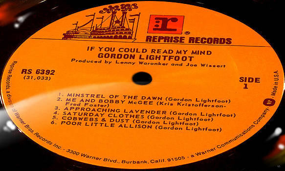 Marcello Cicchini - Gordon Lightfoot If You Could Read My Mind Side 1
