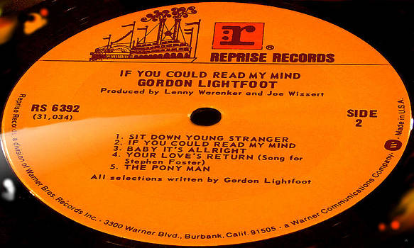 Marcello Cicchini - Gordon Lightfoot If You Could Read My Mind Side 2