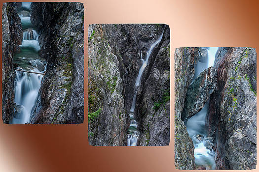 Gorge Creek Triptych by Curtis Knight