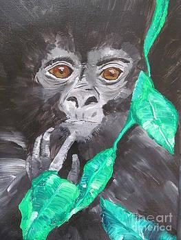 Gorilla baby by Susan Voidets