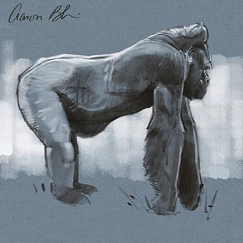 Gorilla sketch by Aaron Blaise