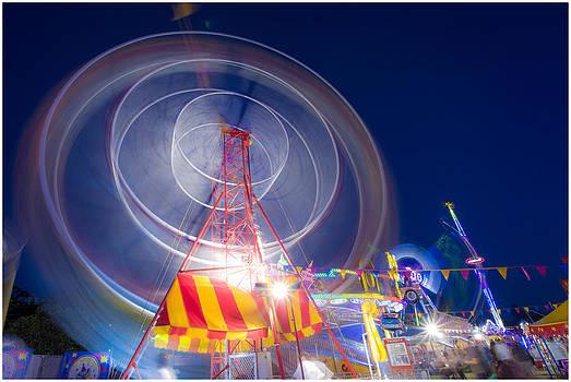 Gosford Ferris Wheel by Steve Caldwell