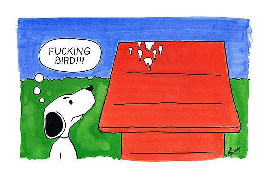 Gosh Darn Bird by Agustin Goba