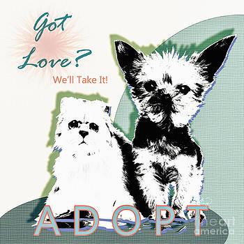 Ginette Callaway - Got Love Adopt a Pet Poster Art