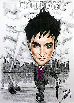GOTHAM - Robin Taylor as Oswald Cobblepot the Penguin by Michael Dijamco