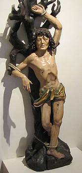 Gotihc Crucifixtion  by Barbara Chachibaya