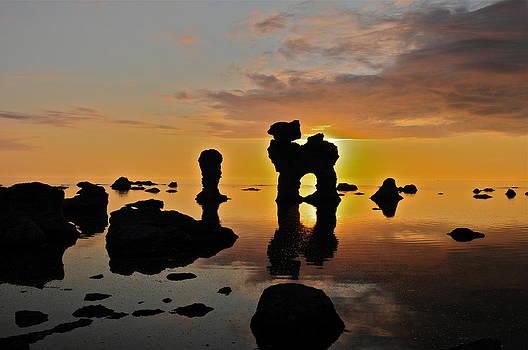 Gotland's majestic sunset by Eliot Freed
