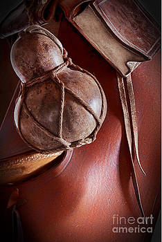 Gourd Book Bag and Saddle by Robert Gaines
