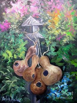 Gourds and Flowers by Barbara Haviland