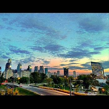 Grabbed These #philly #sunset Shots A by Dan  Diamond