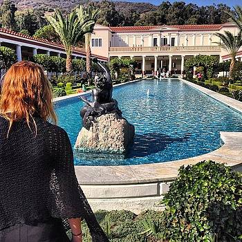 @gracegkay And The #gettyvilla by Ben Tesler
