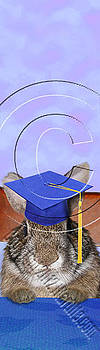 Jeanette K - Graduation Bunny Rabbit # 547