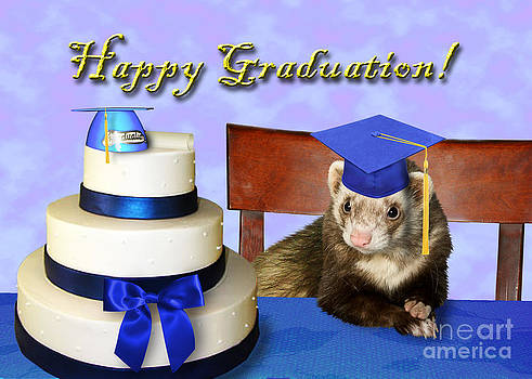 Jeanette K - Graduation Ferret