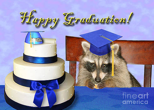 Jeanette K - Graduation Raccoon