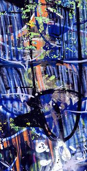 Stephen Barrie - Graffiti 1 Blue