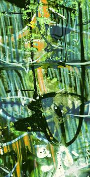 Stephen Barrie - Graffiti 1 Green