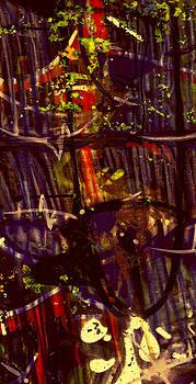 Stephen Barrie - Graffiti 1 Red