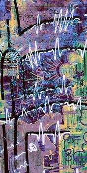 Stephen Barrie - Graffiti 2 Pink Sky