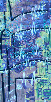 Stephen Barrie - Graffiti 2 Royal Blue