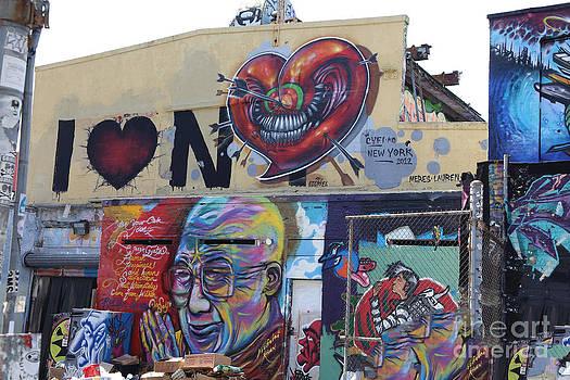 Chuck Kuhn - Graffiti 5 pts I