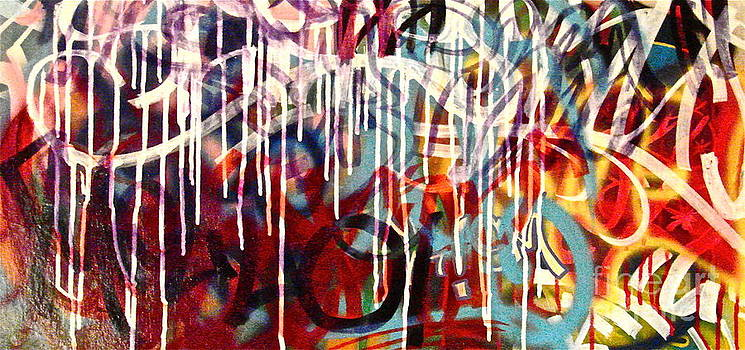 Graffiti Abstract by Tim Eickmeier