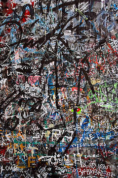 Graffiti chaos by Ron Sumners