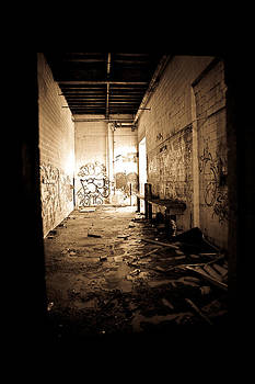 Graffiti Hallway by Michael Molumby