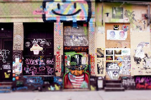 Graffiti in Soho by Bao Studio