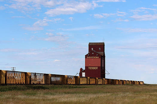 Grain Elevator by Gerald Murray Photography