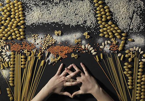 Grain of the creation by Dariya Tishchenko-Zhuravel