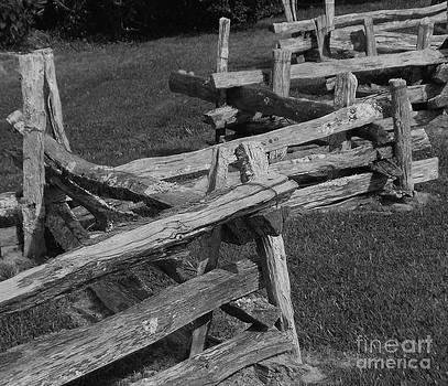 Grampa's Fence by Annette Allman