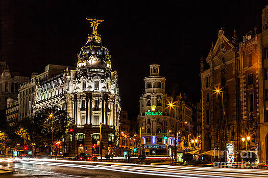 Gran Via by Eugenio Moya