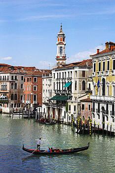 Grand Canal Venice Italy by Cassandra NightThunder