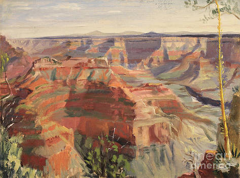 Art By Tolpo Collection - Grand Canyon - North Rim 1947