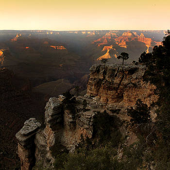 Grand Canyon Dusk by Cedric Darrigrand
