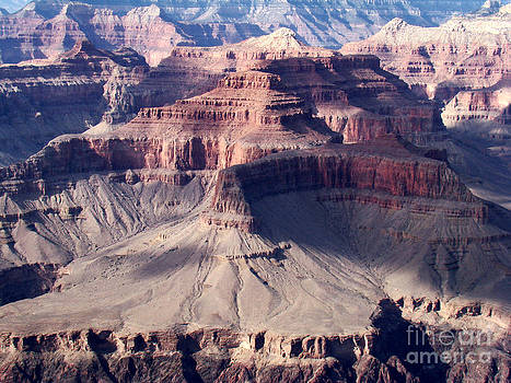 Grand Canyon Mesas by Eva Kato