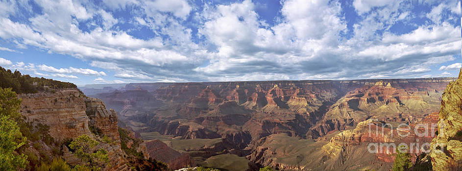David Zanzinger - Grand Canyon NP Daytime Panorama