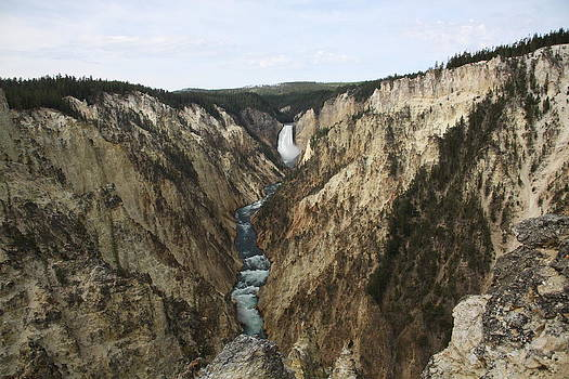 Grand canyon of the Yellowstone by Michael Picco