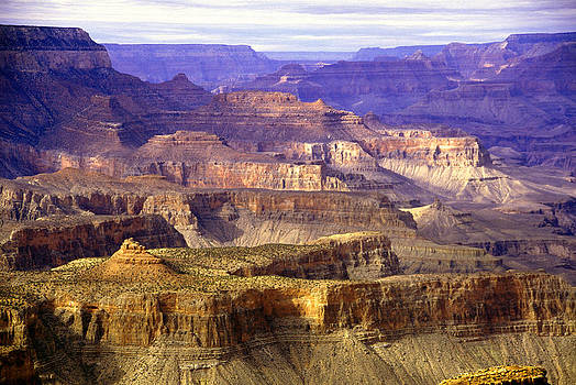 Grand Canyon Plateaus by Martin Sullivan