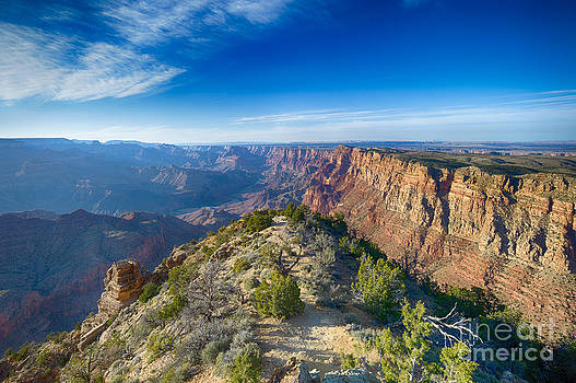 Grand Canyon - Sunset Point by Juergen Klust