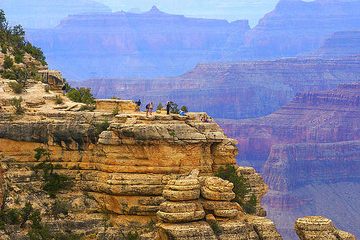 Grand Canyon vista by Broderick Delaney