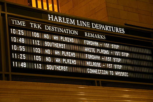 Grand Central Departures by Xanat Flores