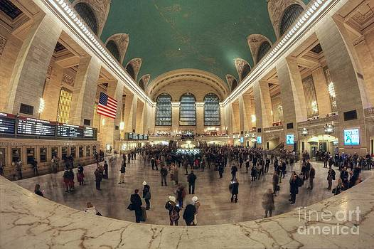 Grand Central Station at Rush House by Daniel Portalatin Photography