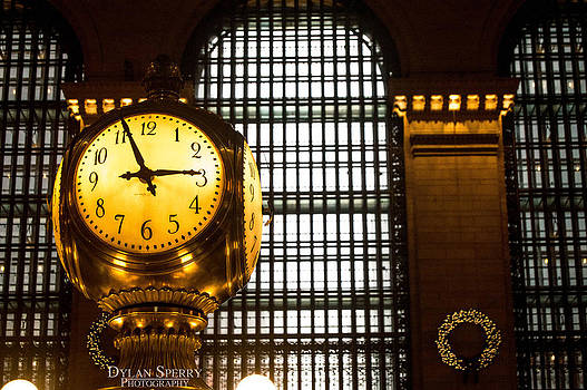 Grand Central Station Clock by Dylan Sperry