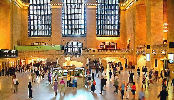 Grand Central Station New York City by Mick Flynn
