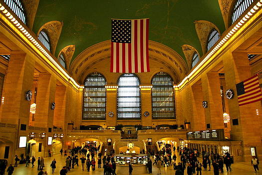Grand Central by Xanat Flores