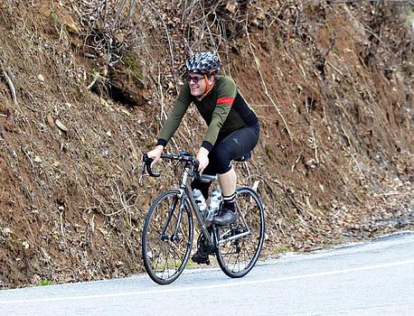 Grand Fondo Rider by Susan Leggett
